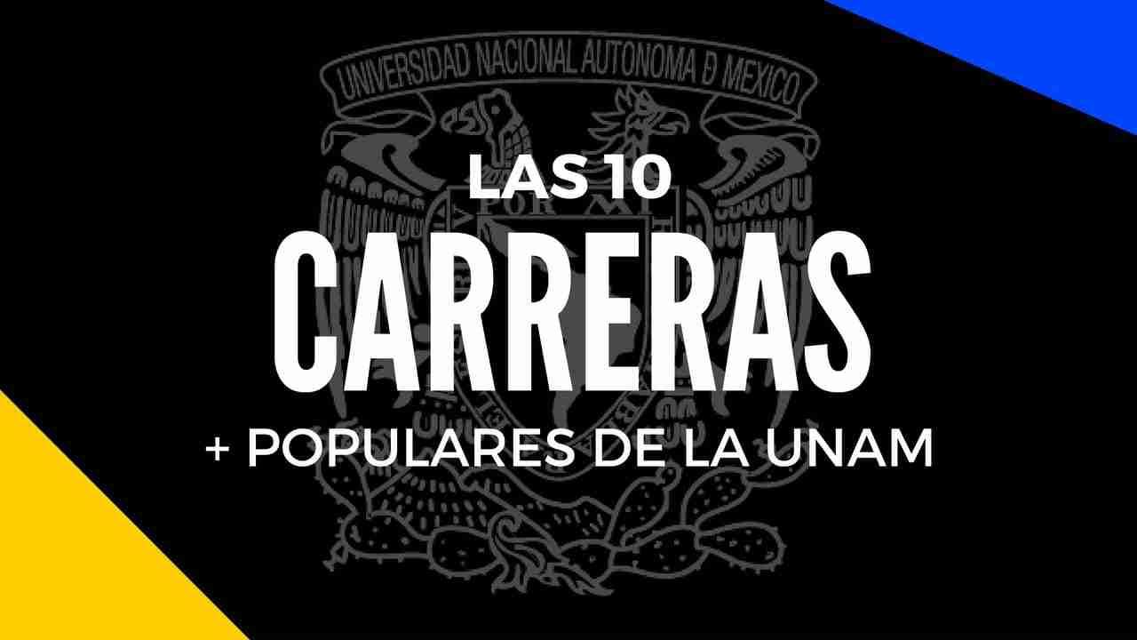 Portada del Post Carreras más populares UNAM
