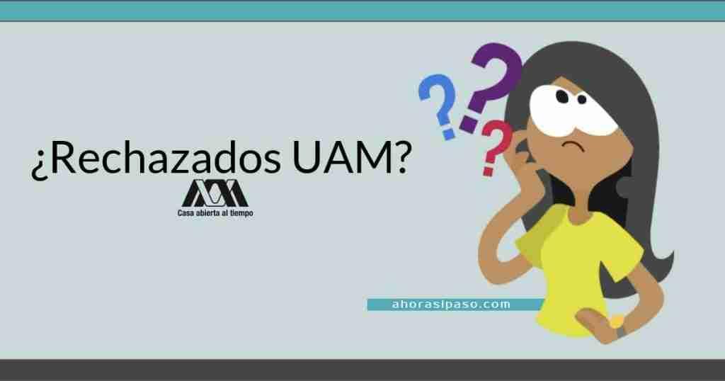 Portada del Post: Rechazados Examen UAM