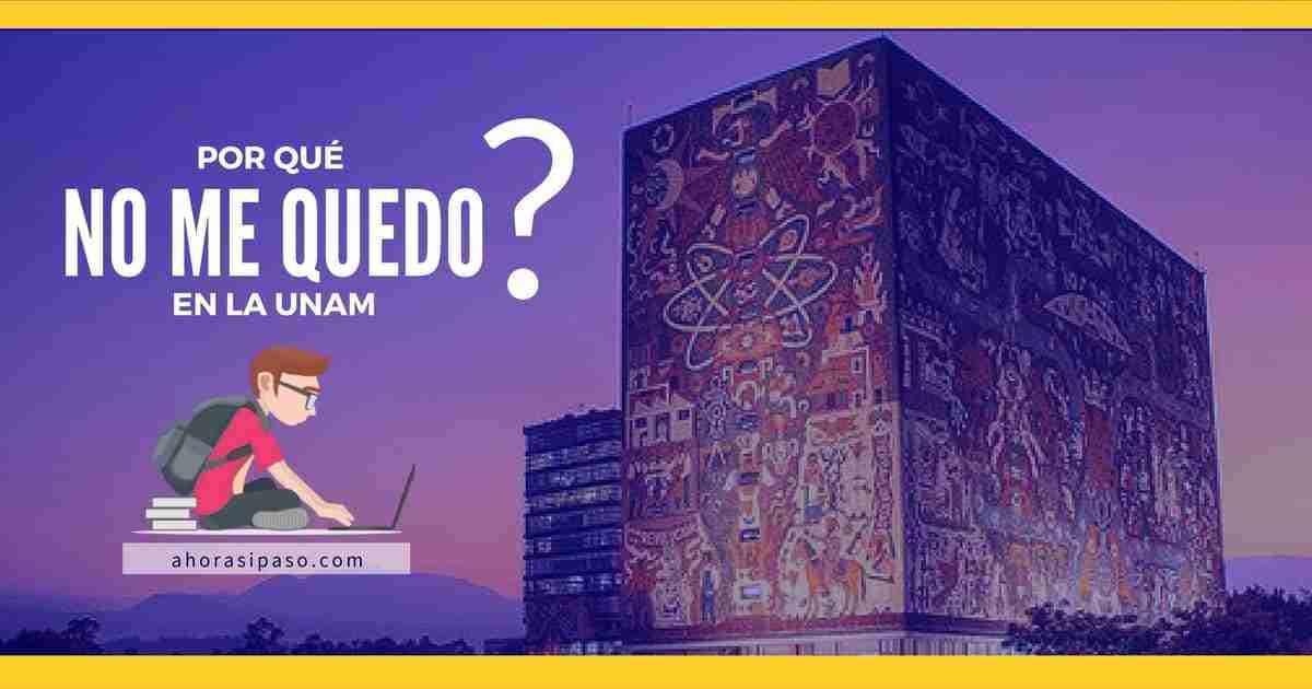 Portada del Post: rechazados Examen UNAM
