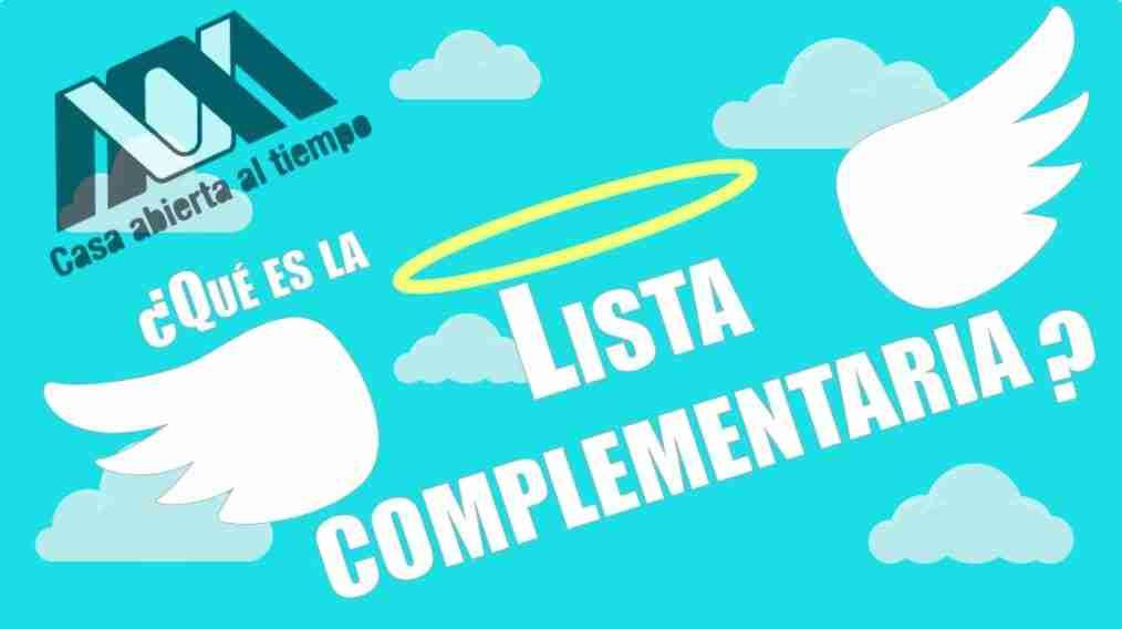 Portada del Post: Lista complementaria UAM 2018