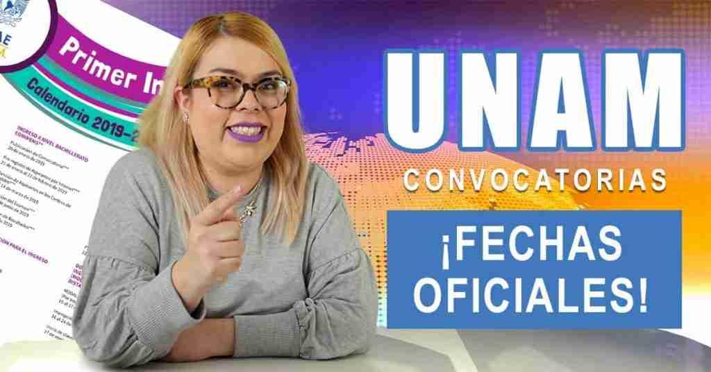 Portada del Post: Calendario UNAM 2019-2020