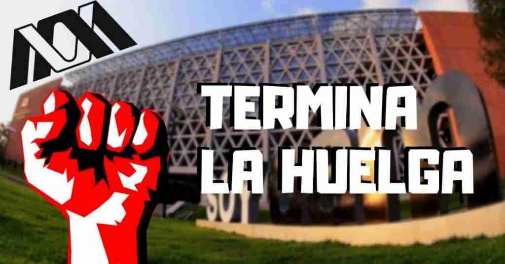 Termina la huelga de la UAM