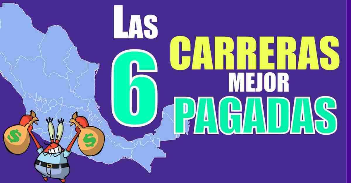 Carreras mejor pagadas en México
