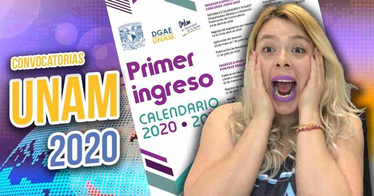 ingreso unam 2020