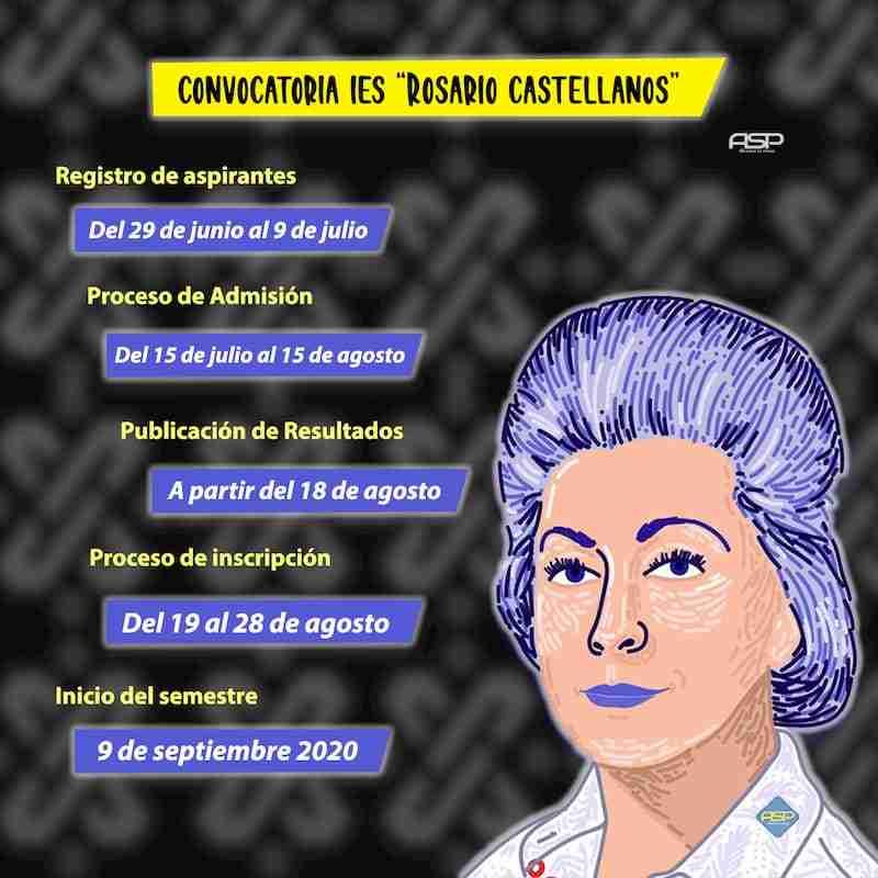 Convocatoria Rosario Castellanos