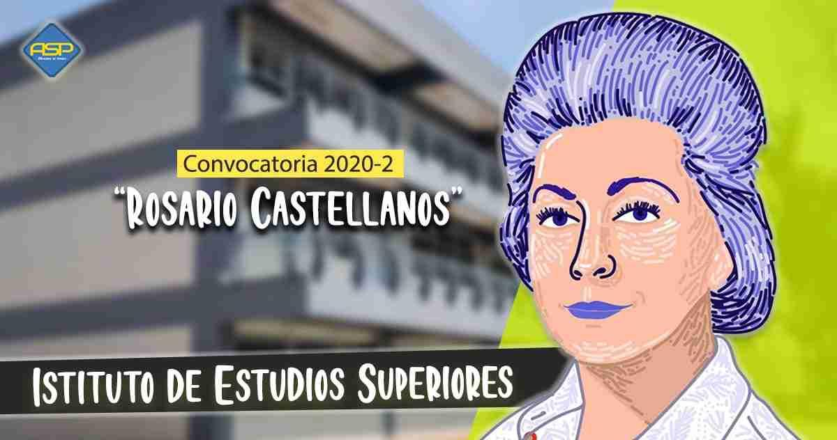 Convocatoria Rosario CAstellanos 2020-2