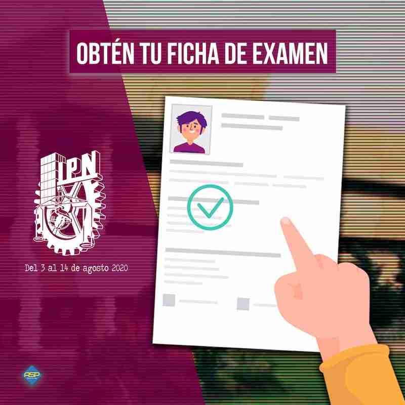 Ficha de examen IPN 2020