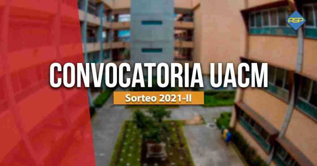 Convocatoria UACM 2021-II