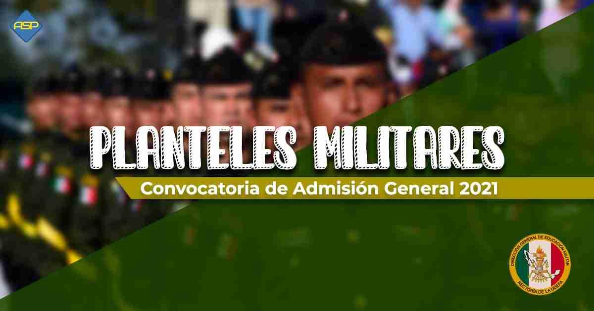 Convocatoria de Planteles Militares
