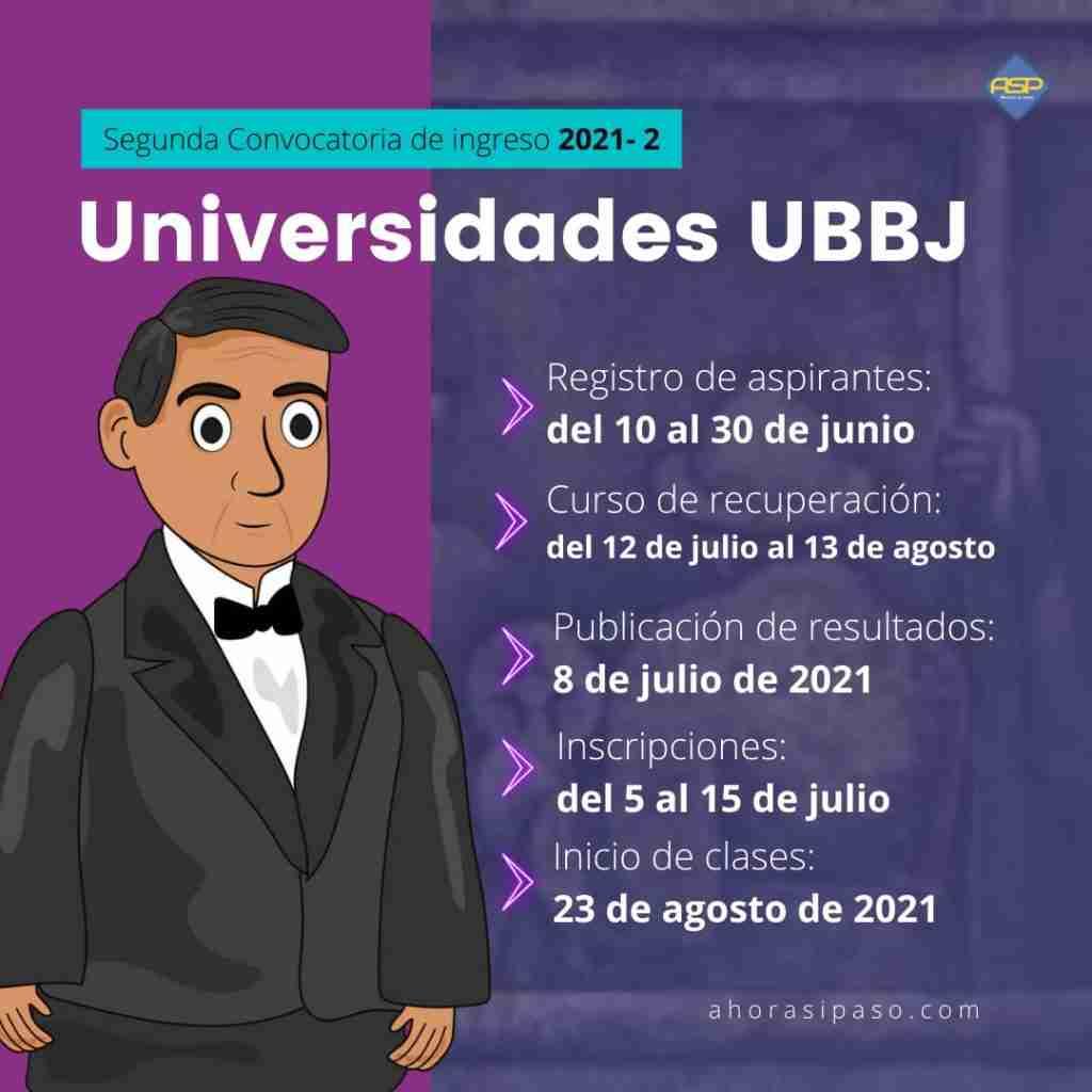 Convocatoria UBBJ